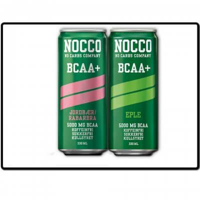 nocco - bcaa+ - alle smaker