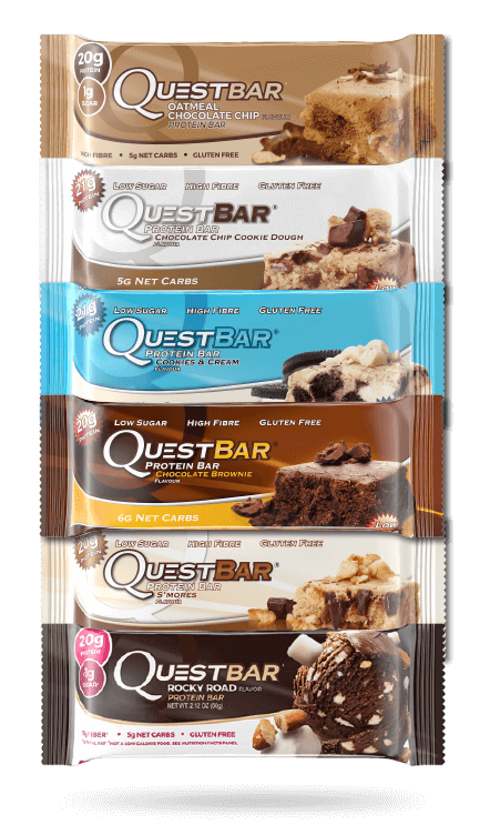quest nutrition quest bar all smaker