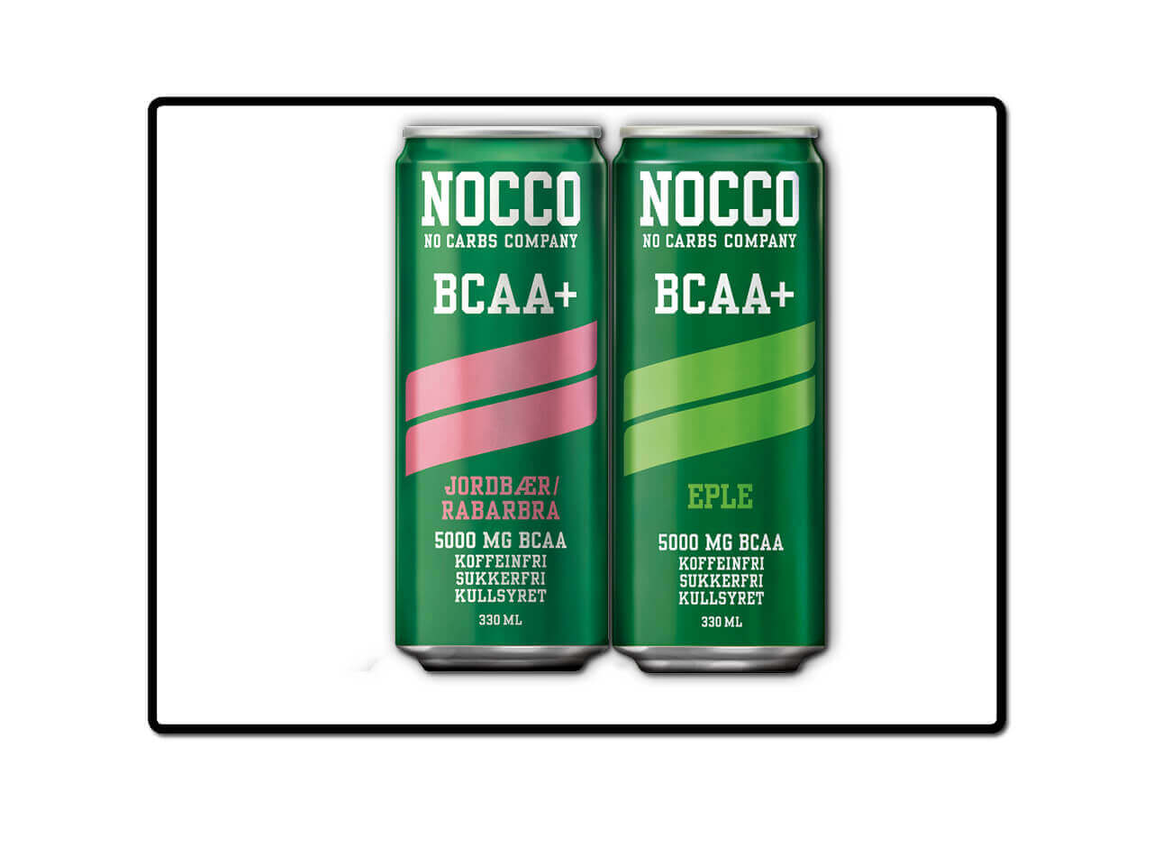 nocco – bcaa+ – alle smaker