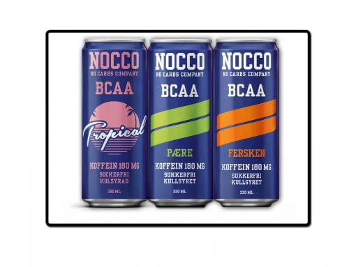 nocco – bcaa – alle smaker