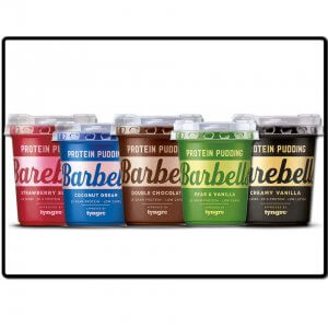 produktbilde - barebells pudding - alle smaker